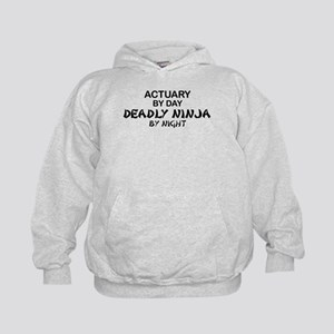 Actuary Deadly Ninja Kids Hoodie