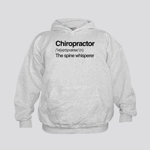 Chiropractor The Spine Whisperer Kids Hoodie