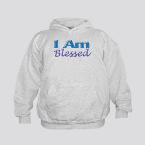 I Am Blessed Kids Hoodie