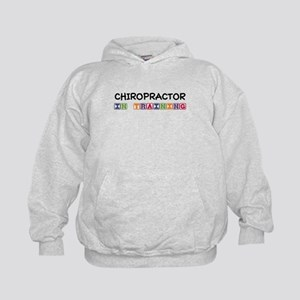 Chiropractor In Training Kids Hoodie