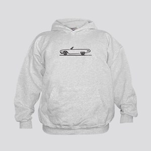 1961 Ford Thunderbird Convertible Kids Hoodie