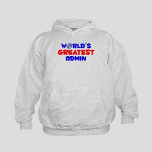 World's Greatest Admin (A) Kids Hoodie