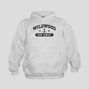 Wildwood NJ Kids Hoodie