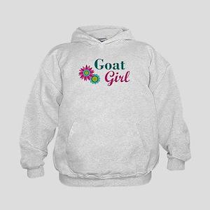 Goat Girl w flower Sweatshirt