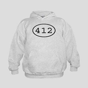 412 Oval Kids Hoodie