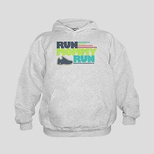 Run Mommy Run - Shoe - Kids Hoodie