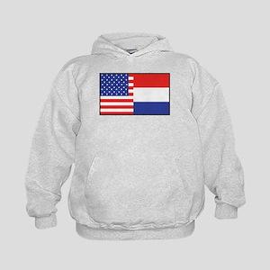 USA/Holland Kids Hoodie