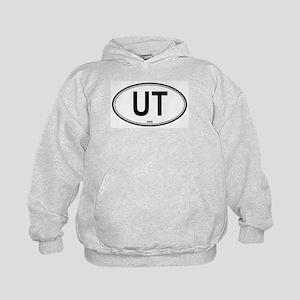 Utah (UT) euro Kids Hoodie