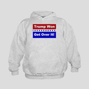 Trump Won Get Over It! Kids Hoodie