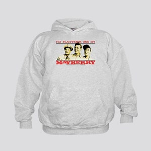 Rather Be in Mayberry Kids Hoodie