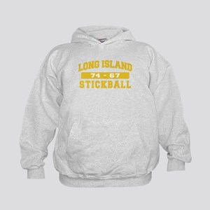 Long Island Stickball Kids Hoodie