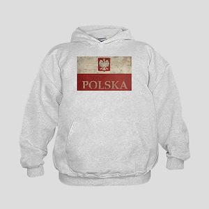 Vintage Polska Kids Hoodie