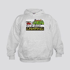 All about camping Kids Hoodie