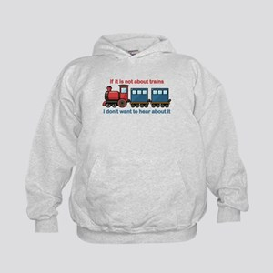 Train Talk Kids Hoodie