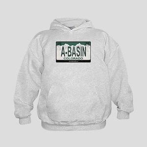 A-Basin Plate Kids Hoodie