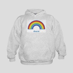 dearie (rainbow) Kids Hoodie