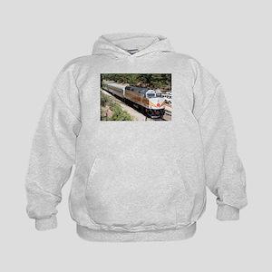 Railway Locomotive, Grand Canyon, Ariz Kids Hoodie