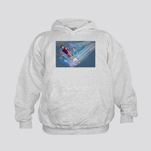 Super Crayon Colored Wakeboarding in th Sweatshirt