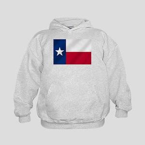 Texas State Flag Kids Hoodie
