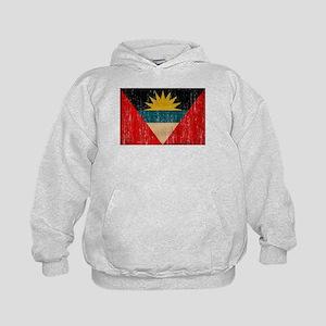 Antigua and Barbuda Flag Kids Hoodie