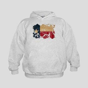 Texas Flag Kids Hoodie