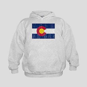 Colorado Flag Kids Hoodie