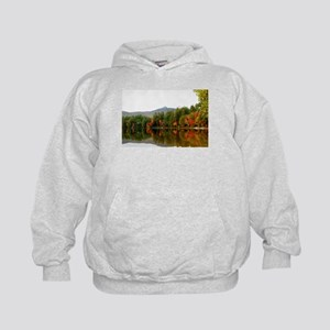 Fall In Love With Autumn In New Englan Kids Hoodie
