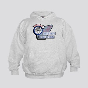 Bill & Bob's 12 and 12 Diner Hoodie