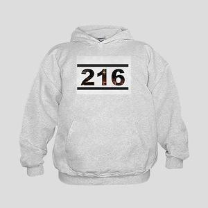 Straight Outta 216 Kids Hoodie