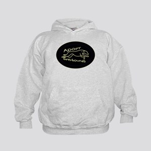 More Greyhound Logos Kids Hoodie