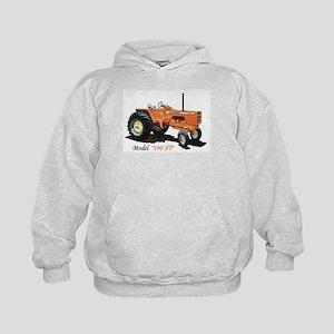 Antique Tractors Kids Hoodie