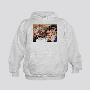 Renoir Luncheon Of The Boating Party Kids Hoodie