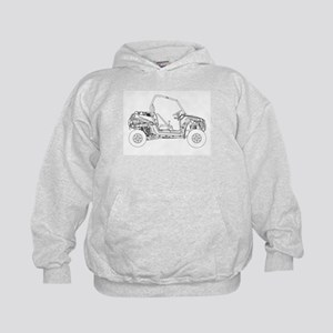 Side X Side Drawing Sweatshirt