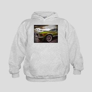 70 Mustang Mach 1 Kids Hoodie