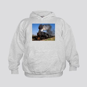 Antique steam engine train Hoodie