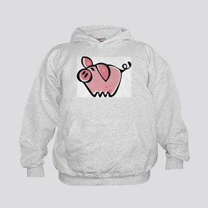 Cute Cartoon Pig Kids Hoodie