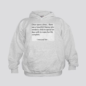 THE STORY OF NANNY Kids Hoodie