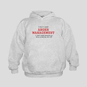 Anger Management Kids Hoodie