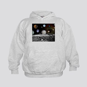 Solar System Montage Hoodie