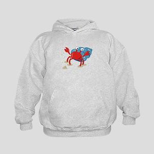 Dancing Crab Hoodie