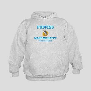 Puffins Make Me Happy Sweatshirt