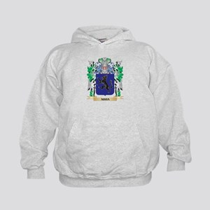 Abba Coat of Arms - Family Crest Kids Hoodie