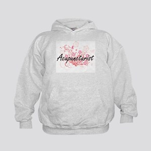 Acupuncturist Artistic Job Design with Kids Hoodie