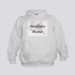 Administrative Assistant Artistic Job Kids Hoodie