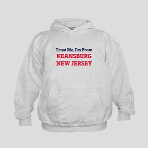 Trust Me, I'm from Keansburg New Jerse Kids Hoodie