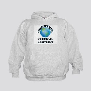World's Best Clerical Assistant Kids Hoodie