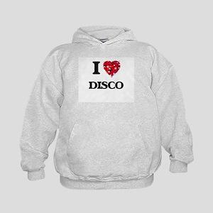 I love Disco Kids Hoodie