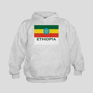 Ethiopia Flag Merchandise Kids Hoodie