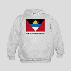 Antigua & Barbuda Flag Merchandise Kids Hoodie