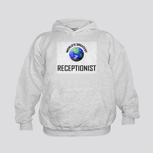 World's Greatest RECEPTIONIST Kids Hoodie